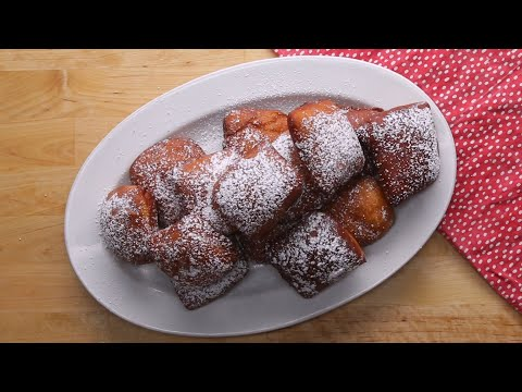 Renee - Easy! How to make homemade Beignets!