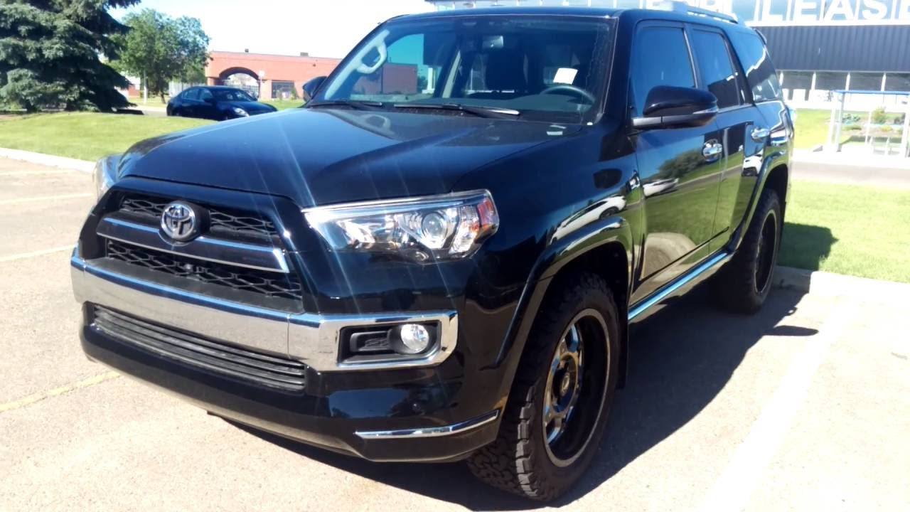 2016 toyota 4runner limited 7 passenger w 20 aftermarket rims 2016 toyota 4runner limited 7 passenger w 20 aftermarket rims tires youtube sciox Images