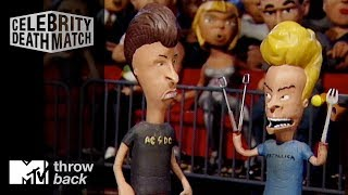 'Beavis vs. Butt-Head' Official Clip | Celebrity Deathmatch | #TBTMTV