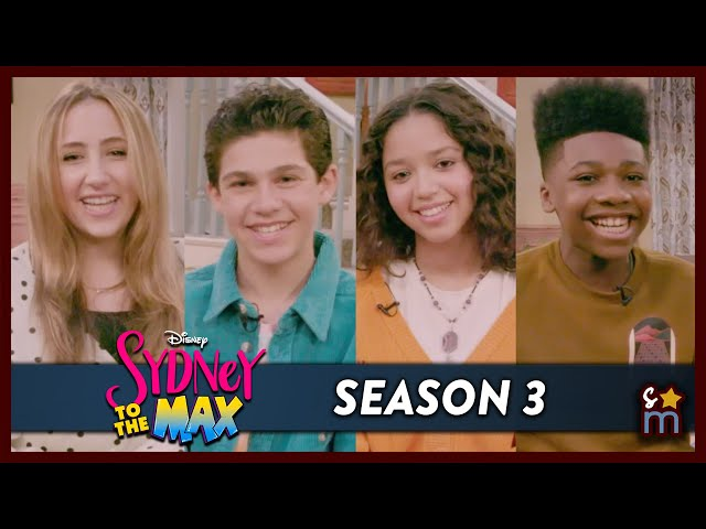 SYDNEY TO THE MAX Cast Talk Season 3 & Reveal Favorite Thing About Each Other | Exclusive Interview