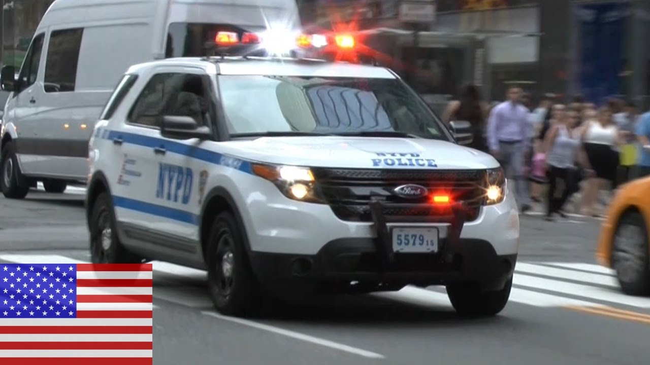 New York City Nypd Srg1 Ford Explorer Interceptor Responding At