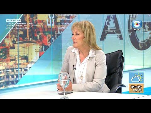 Carolina Cosse candidata a la Intendencia de Montevideo