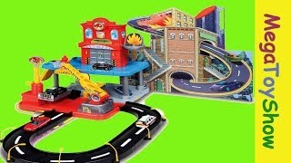 Bburago Fire Street Fire Station Playset toys for boys #Mega Toy Show