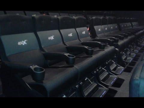 Test de la première salle de cinéma 8DX en France - Pathé La Villette, Paris