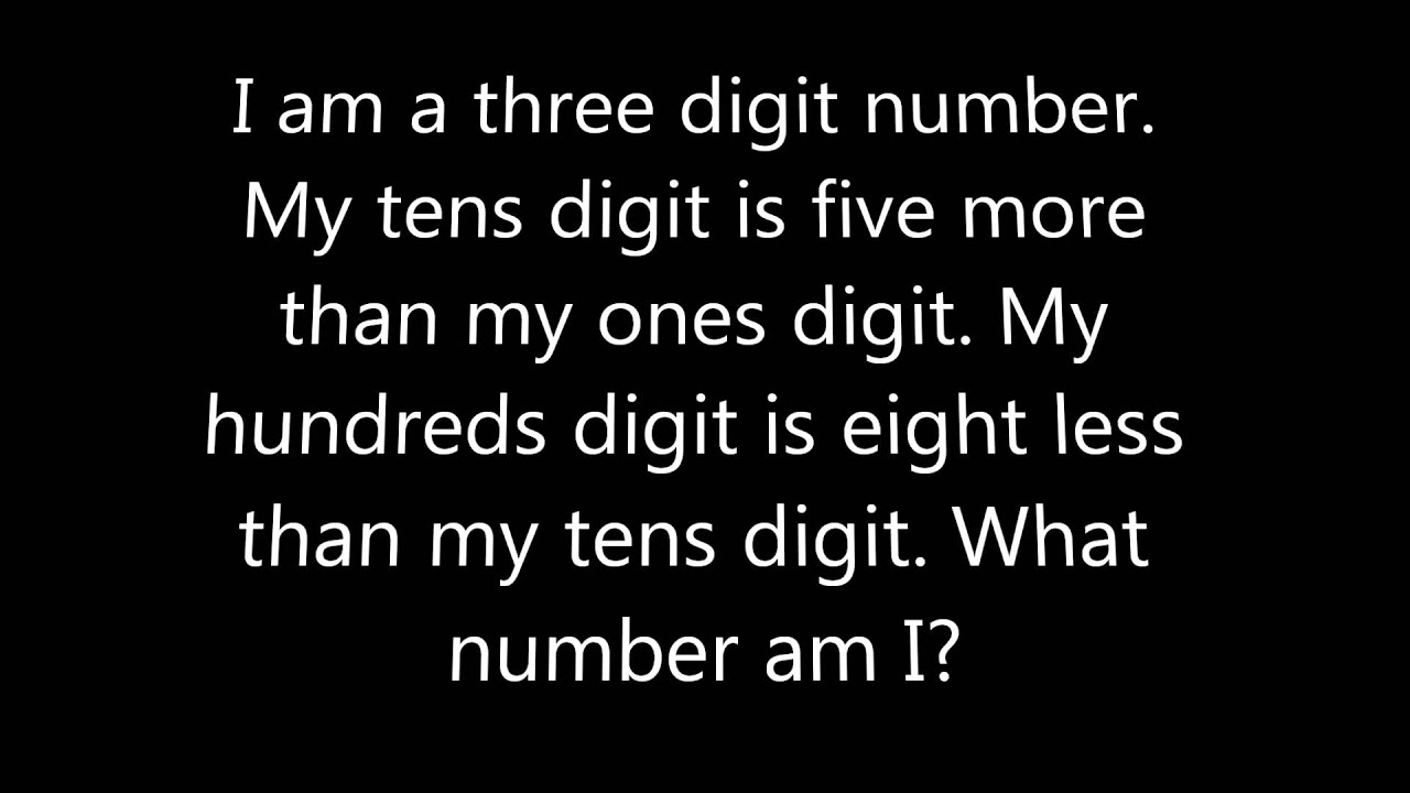 Weekly brain teaser riddle #2 - YouTube
