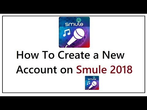 How To Create Account On SMULE