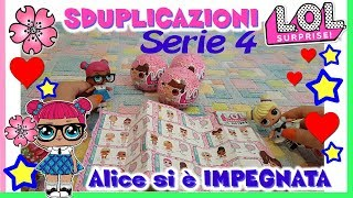 LOL SURPRISE: LIL SISTER series 4...Doppia, nuova o...GOLD?! Unboxing By Lara e Babou