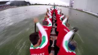 Dragonboat ICF World Championships Moscow 2016 Senior MEN 2000m Hungary