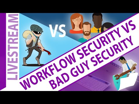 FileMaker Workflow Security Vs. Bad Guy Security