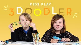 Kids Play 3Doodler