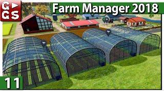 FARM MANAGER 2018 🐄 Gewächshausausbau ► #11 Preview deutsch german
