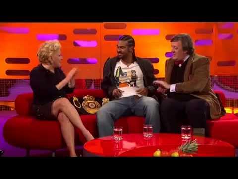 The Graham Norton Show 2010 S8x05 Bette Midler, Stephen Fry, David Haye Part 2