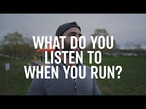 What music do you listen to when you run?