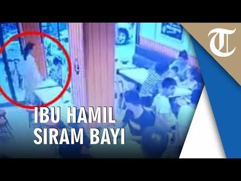 Ibu Hamil Siram Bayi Rewel Di Restoran Dengan Sup