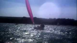 studland bay catamaran and dinghy sailing