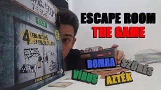 Escape Room: The Game - társasjáték bemutató