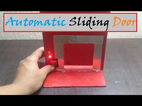 How to make Automatic Sliding Door/ Easy Tutorial thumbnail