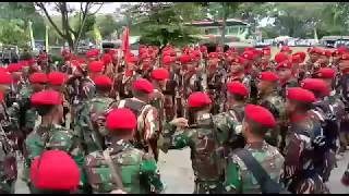 Yel yel TNI KOMANDO!!!! Terbaru komando 101