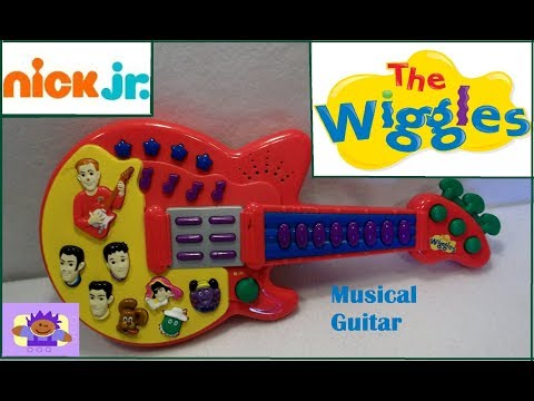 2003 Disney The Wiggles Musical Singing Toy Guitar By Spin Master