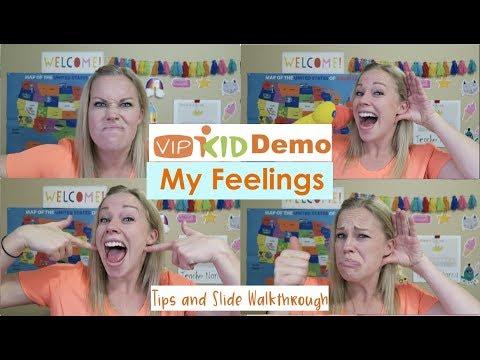 """VIPKID Demo- """"My Feelings"""" Tips and Slide Walkthrough"""