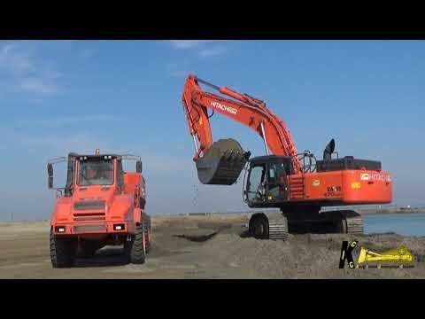 Hitachi excavator cold start by BradyHill1