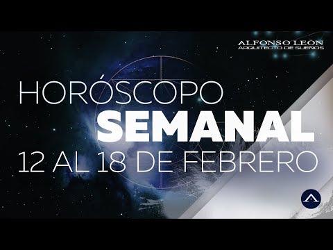HORÓSCOPO SEMANAL | 12 AL 18 DE FEBRERO | ALFONSO LEÓN ARQUITECTO DE SUEÑOS