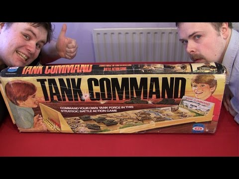 Tank Command Board Game (Uncut) | Ashens & Guru Larry