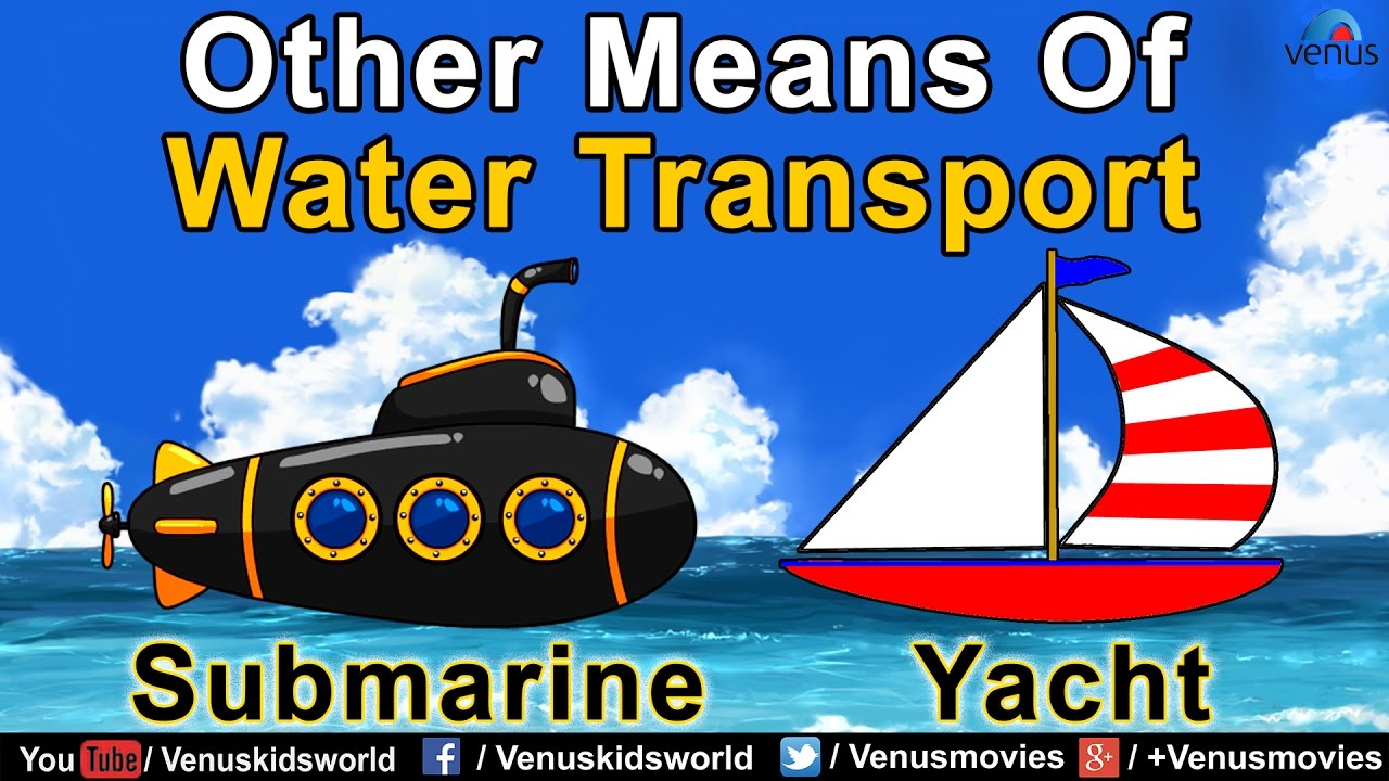 Other Means Of Water Vehicles