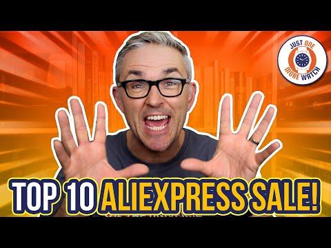 Top 10 AliExpress Anniversary Sale Watches!