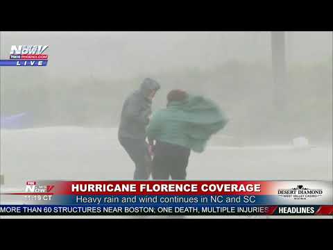 HURRICANE FLORENCE: So You Want To Be A News Reporter?