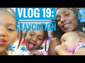 MOM LIFE VLOG : Staycation Family Pizza And Video Games