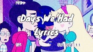 Download Powfu- days we had (Lyrics)