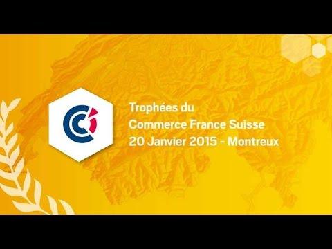 26e Trophées du commerce France Suisse
