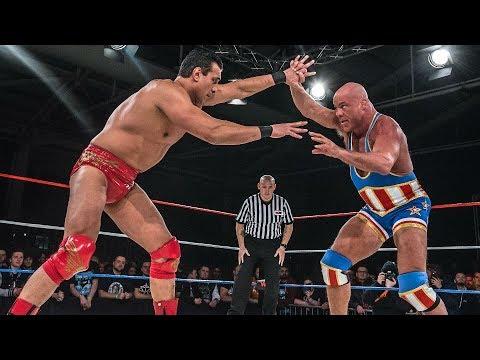 Kurt Angle vs Alberto El Patron (True Destiny 2017)