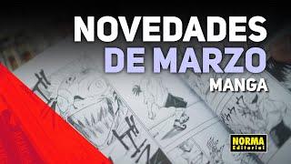 Novedades MANGA | MARZO 2020