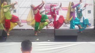 NYC Bhangra at 2013 India Day Parade in New York