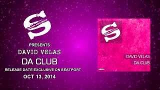 "SR051 ""DA CLUB"" / DAVID VELAS / SAHNA RECORDS"