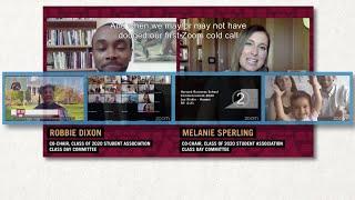 Celebrating the 2020 Harvard Business School Virtual Commencement