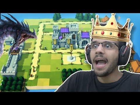 جا تنين يطير فوق قريتي! 😨 (1) - Kingdoms and Castles