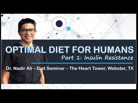 Optimal Diet for Humans -Insulin Resistance | Dr. Nadir Ali
