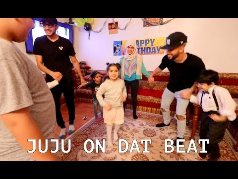 EPIC DANCE BATTLE WITH MY FAMILY!!!