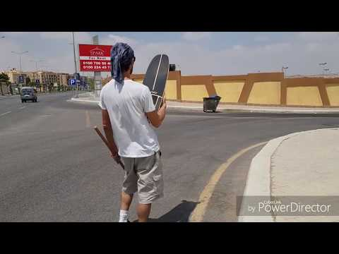 3 Different Carver Boards - The Compass Stick- Egypt Cairo - Great Spots - تعليم سكتبورد في مصر