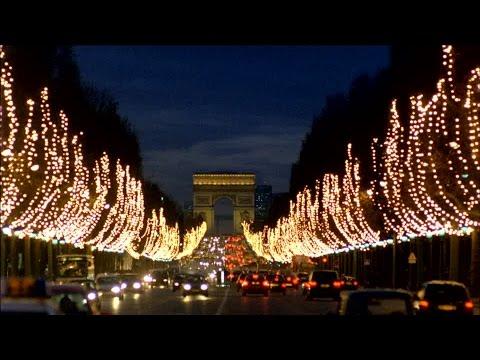Champs elysées a Noel 2017 paris