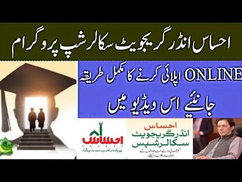 How To Apply Online For Ehsaas Undergraduate Scholarships Program