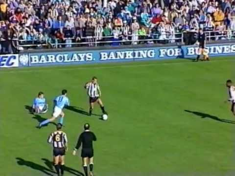 [91/92] Notts County v Manchester City, Oct 6th 1991