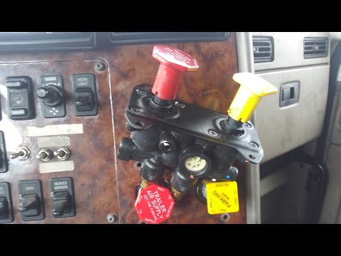 Changing Out Trailer Air Supply Valve!