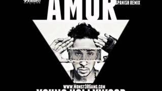 Young Hollywood -- Amor (How To Love) (Spanish Remix)