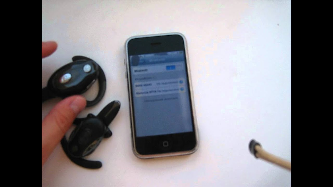 handsfee motorola hs850 and iphone youtube rh youtube com motorola hs850 bluetooth headset pairing instructions Motorola H17 Bluetooth Manual