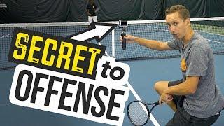 SECRET to Tennis Offense + 3 drills