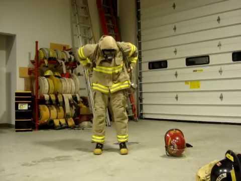 تدريب رجال الاطفاء 2